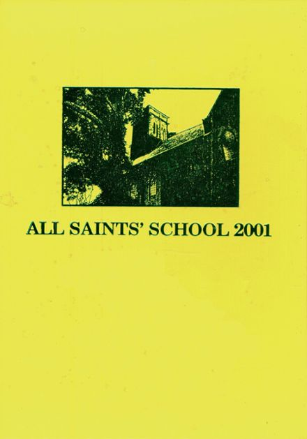 2001 All Saints Episcopal High School Yearbook Cover