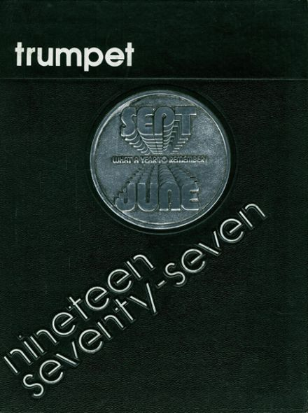 1977 Whittier Christian School Yearbook Cover