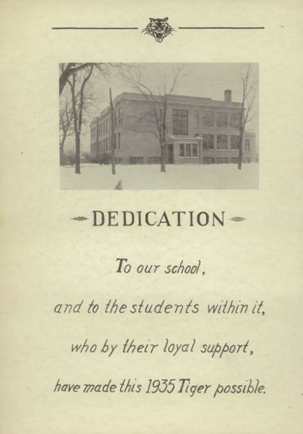 1935 Ripon High School Yearbook Page 6