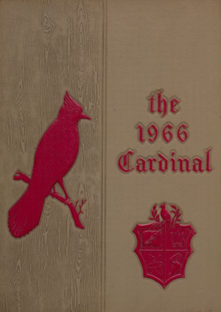 1966 Taylor County High School Yearbook Cover