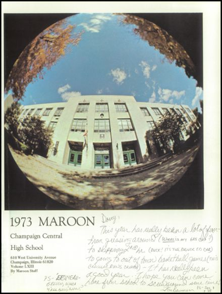 1973 Champaign Central High School Yearbook Page 5