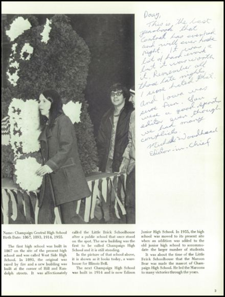 1973 Champaign Central High School Yearbook Page 7