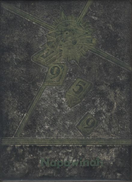 1959 Napavine High School Yearbook Cover