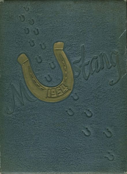 1954 Myers Park High School Yearbook Page 1
