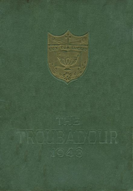 1943 Catholic High School of Baltimore Yearbook Cover