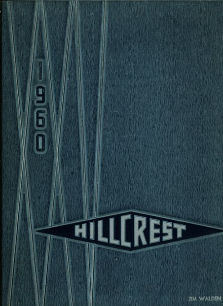 1960 Bloomfield Hills High School Yearbook Cover
