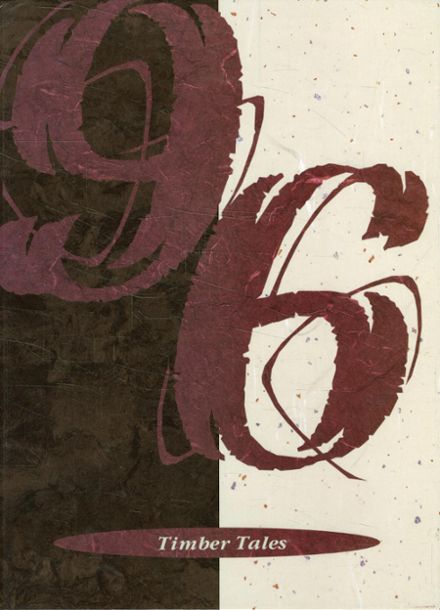 1996 Southern Trinity High School Yearbook Cover
