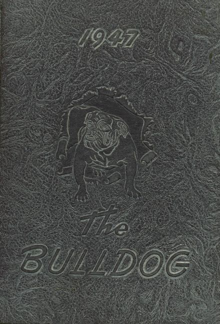 1947 Butte High School Yearbook Cover