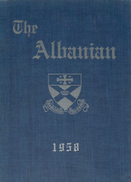 1958 St. Albans High School Yearbook Cover
