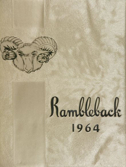 1964 South Gate High School Yearbook Cover