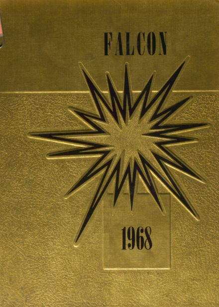 1968 Louisa-Muscatine High School Yearbook Cover