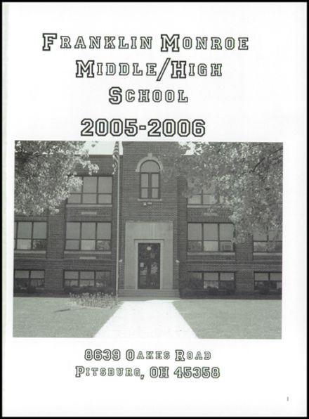 2006 Franklin-Monroe High School Yearbook Page 5