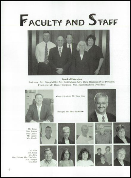 2006 Franklin-Monroe High School Yearbook Page 6