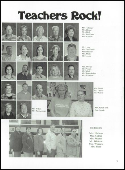 2006 Franklin-Monroe High School Yearbook Page 7