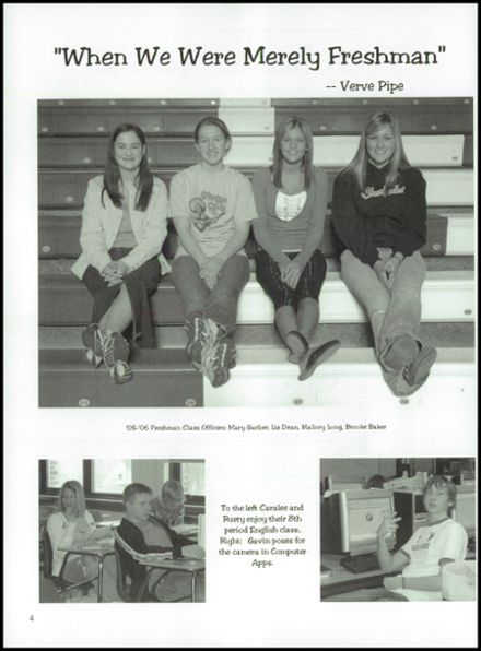 2006 Franklin-Monroe High School Yearbook Page 8