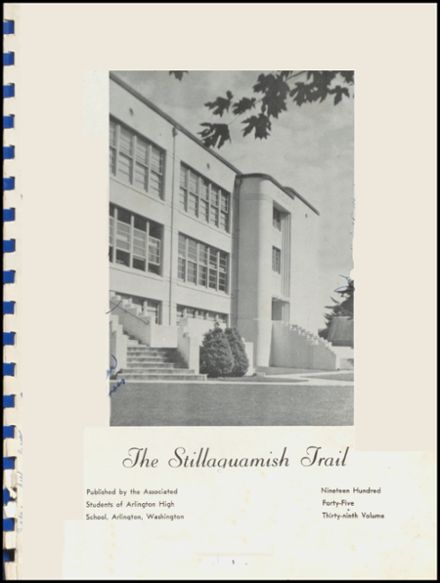 1945 Arlington High School Yearbook Page 3
