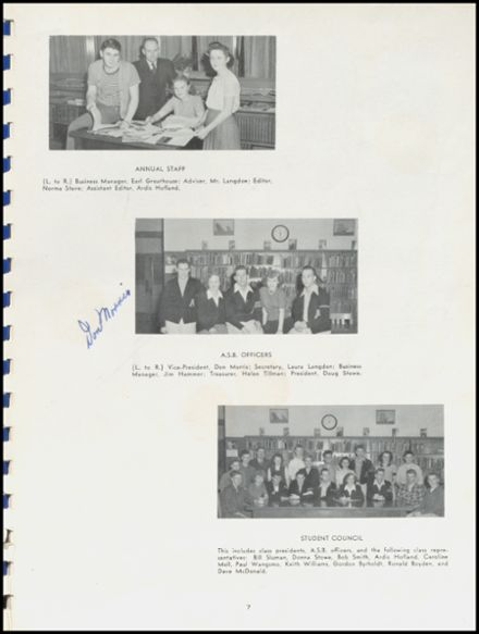 1945 Arlington High School Yearbook Page 9