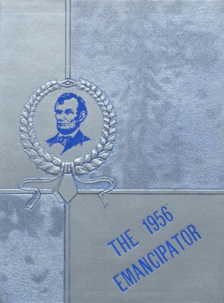 1956 Lincoln High School Yearbook Cover