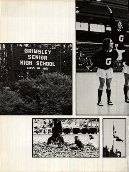 1973 Grimsley High School Yearbook Page 6