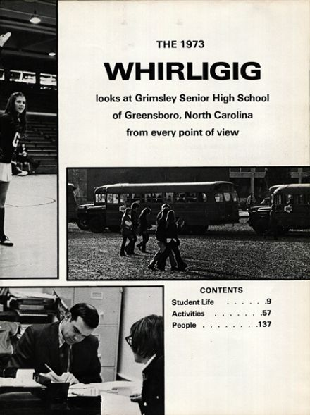 1973 Grimsley High School Yearbook Page 7