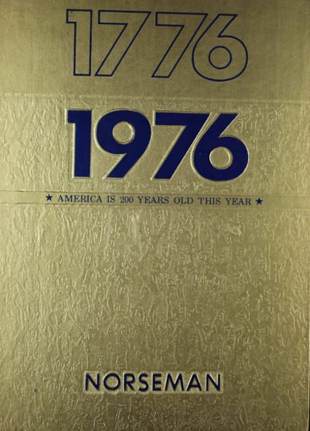 1976 Parsons High School Yearbook Cover