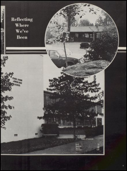 1979 Evergreen High School Yearbook Page 9