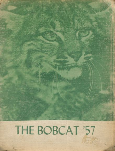 1957 Thayer High School Yearbook Cover