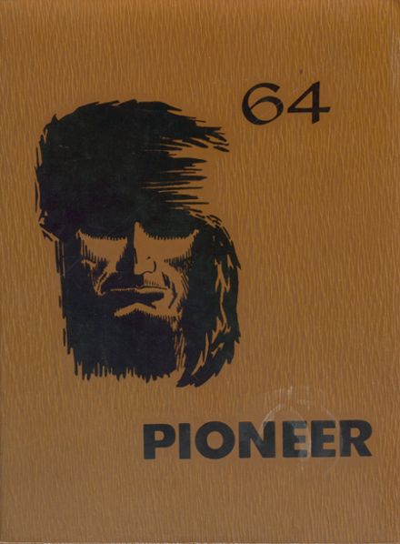 1964 Greenhills High School Yearbook Cover