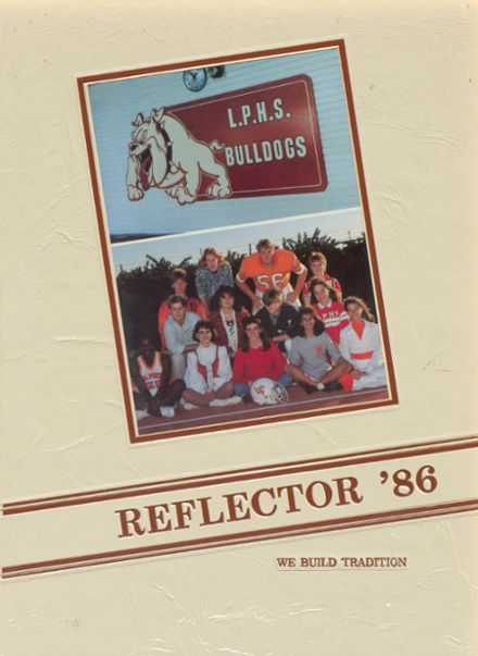 1986 La Porte High School Yearbook Cover