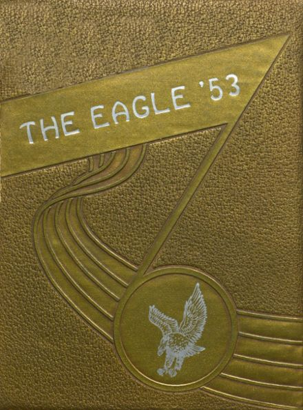 1953 Coldspring High School Yearbook Cover