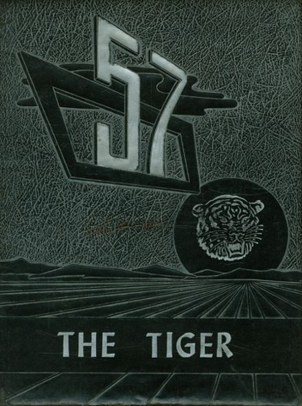 1957 Cocoa High School Yearbook Cover