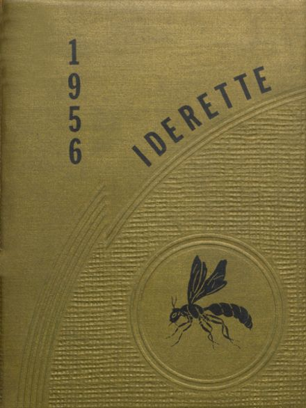 1956 Ider High School Yearbook Cover