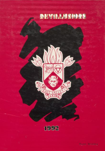 1992 East Valley High School Yearbook Cover
