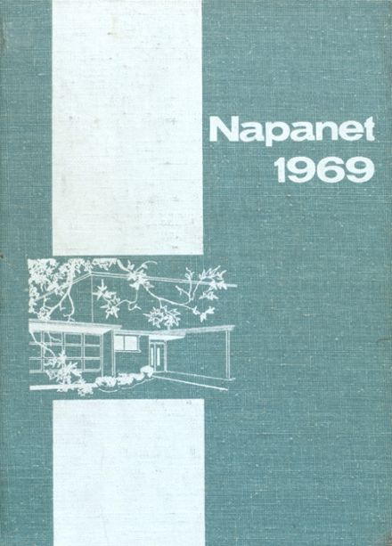 1969 Nappanee High School Yearbook Cover