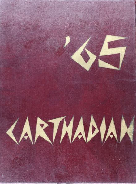 1965 Carthage High School Yearbook Cover