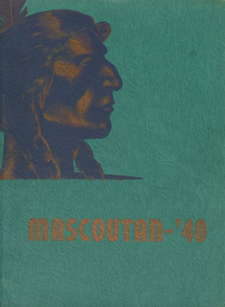 1940 Mascoutah High School Yearbook Cover