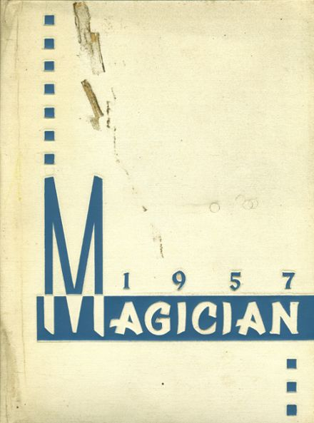 1957 Muncie Central High School Yearbook Cover