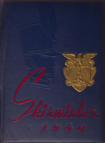 1960 Fork Union Military Academy Yearbook Cover