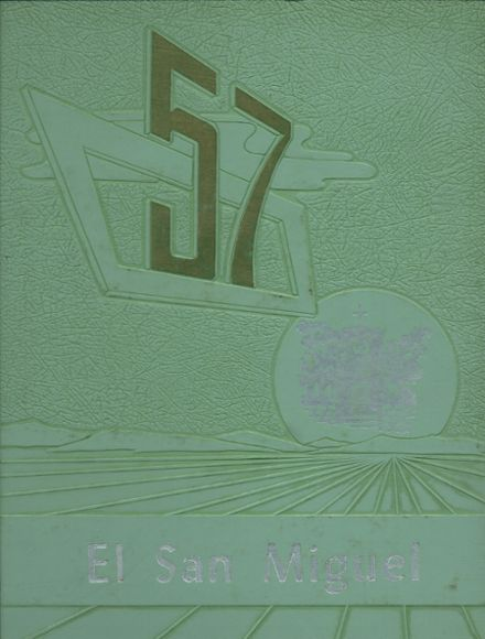 1957 St. Michael's High School Yearbook Cover