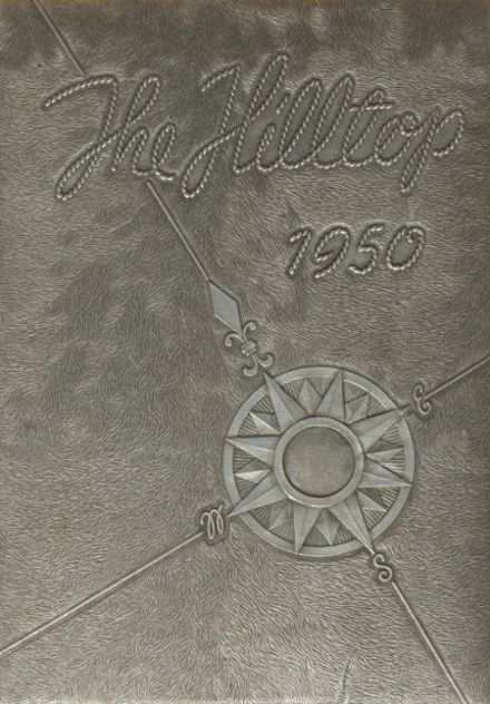 1950 Burnt Hills-Ballston Lake High School Yearbook Cover