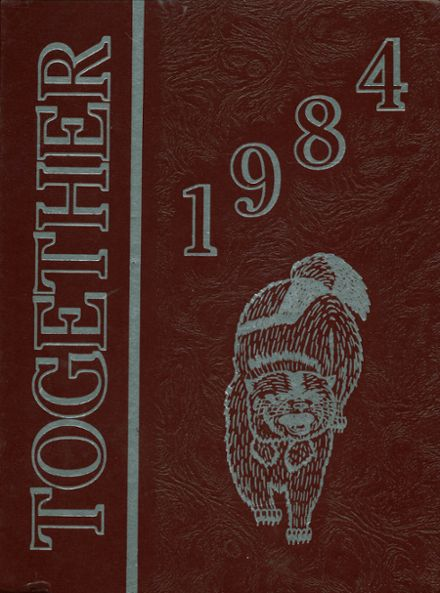 1984 Abbott Technical High School Yearbook Cover