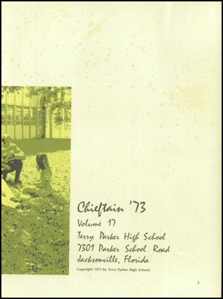 1973 Terry Parker High School Yearbook Page 7