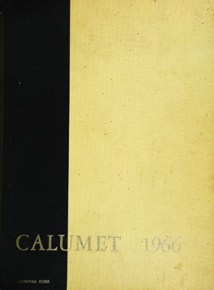 1966 Clairemont High School Yearbook Cover