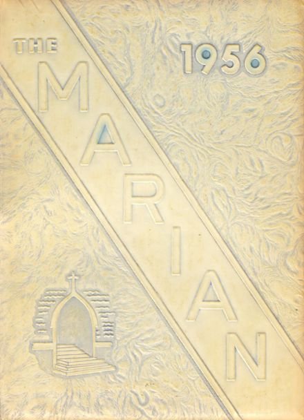1956 St. Mary's Academy Yearbook Cover