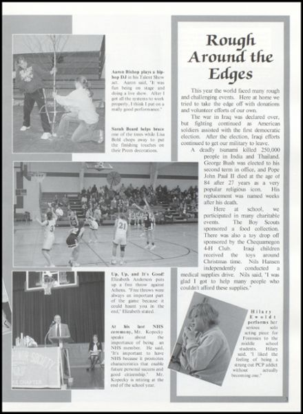 2005 Rib Lake High School Yearbook Page 7
