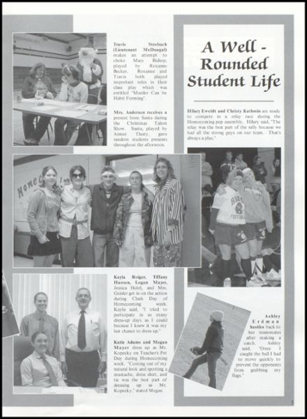 2005 Rib Lake High School Yearbook Page 9