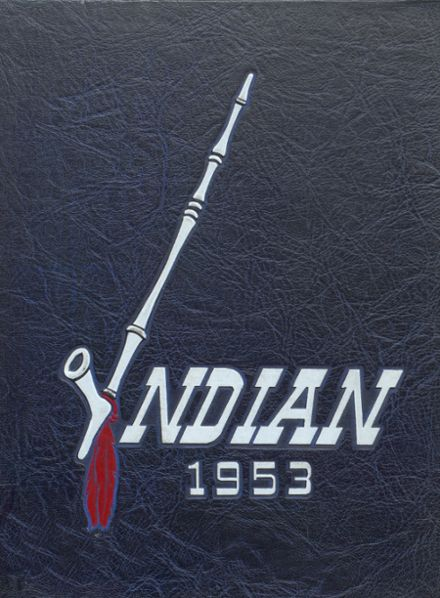 1953 Shawnee Mission North High School Yearbook Cover
