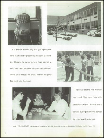 1979 Wilmington High School Yearbook Page 6