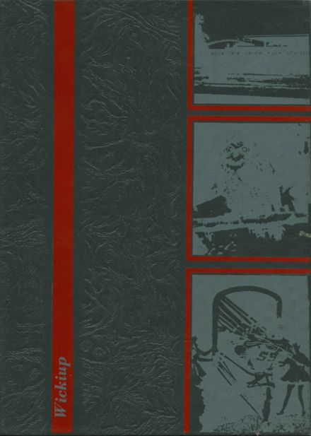 1970 Agua Fria Union High School Yearbook Cover
