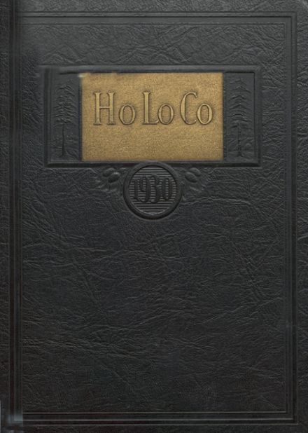 1930 Estherville High School Yearbook Cover